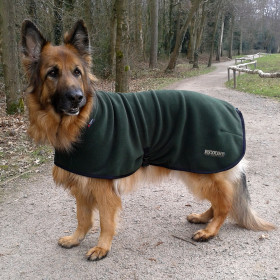 Loden Green Turtle-Neck Coat